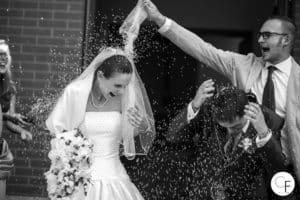 Lancio riso sposi Torino