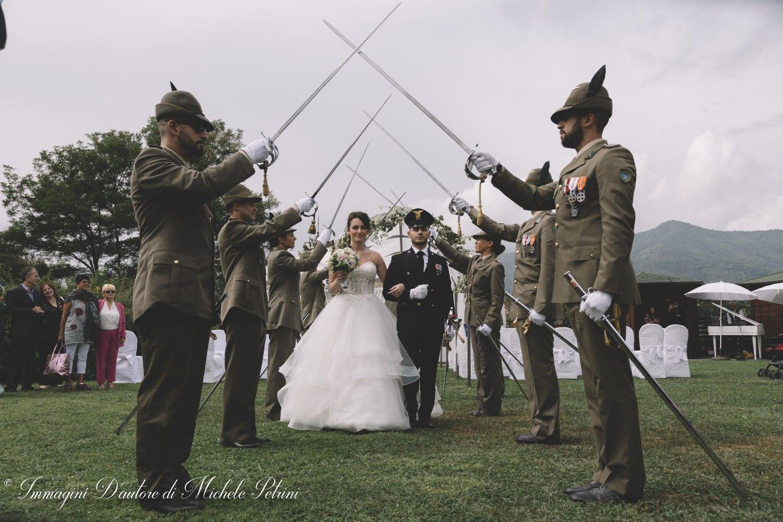 cerimonia civile con picchetto d'onore 5