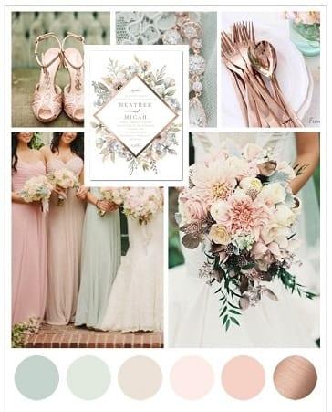 colori e stile matrimonio